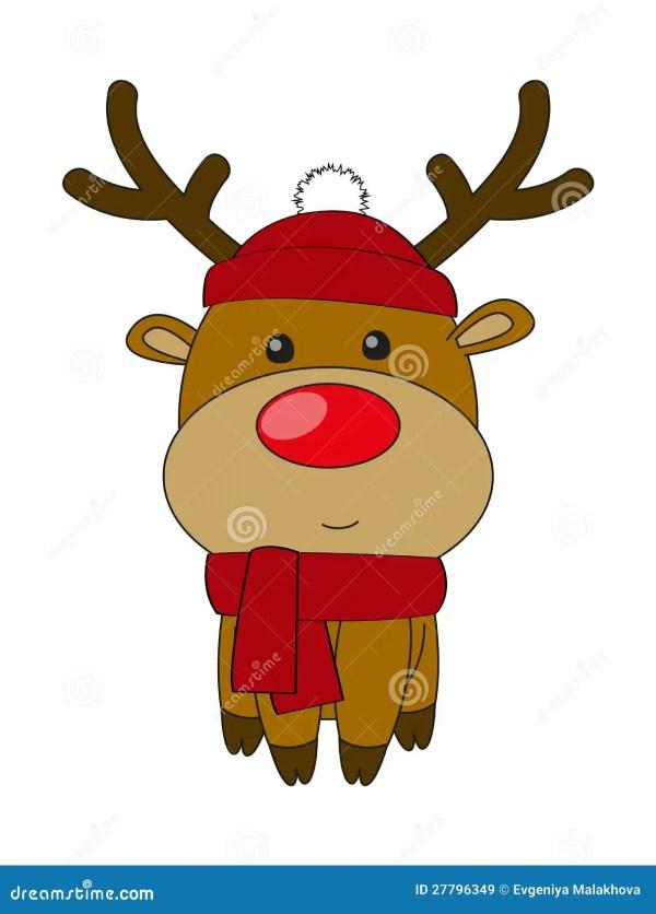 Cute Deer Royalty Free Stock - 27796349