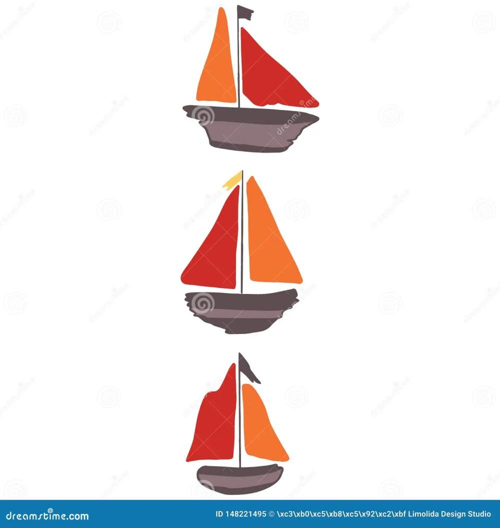 medium resolution of cute blue driftwood sailboat cartoon vector illustration motif set hand drawn isolated seafaring elements clipart for nautical blog marine graphic