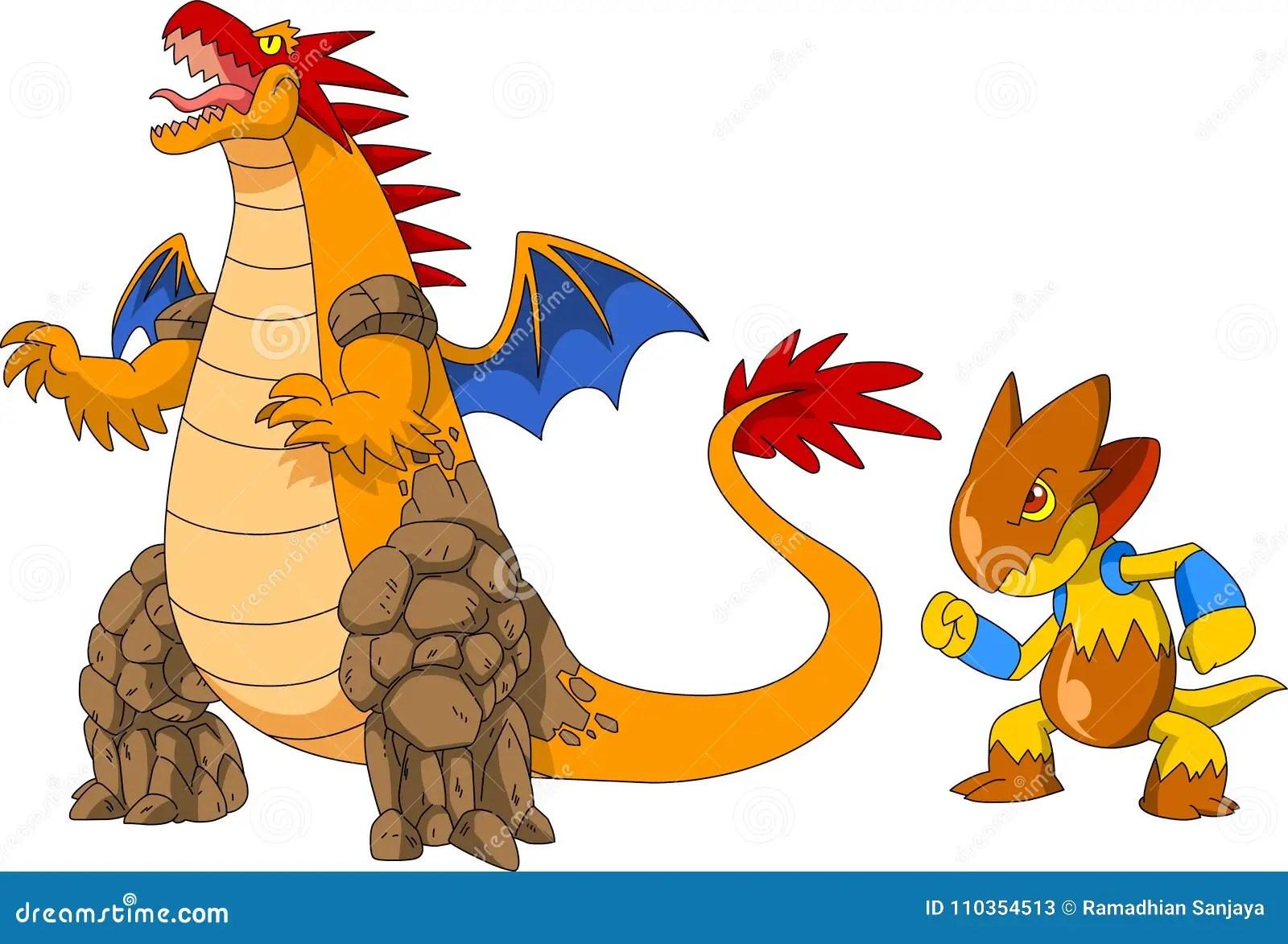 pokemon stock vector illustration