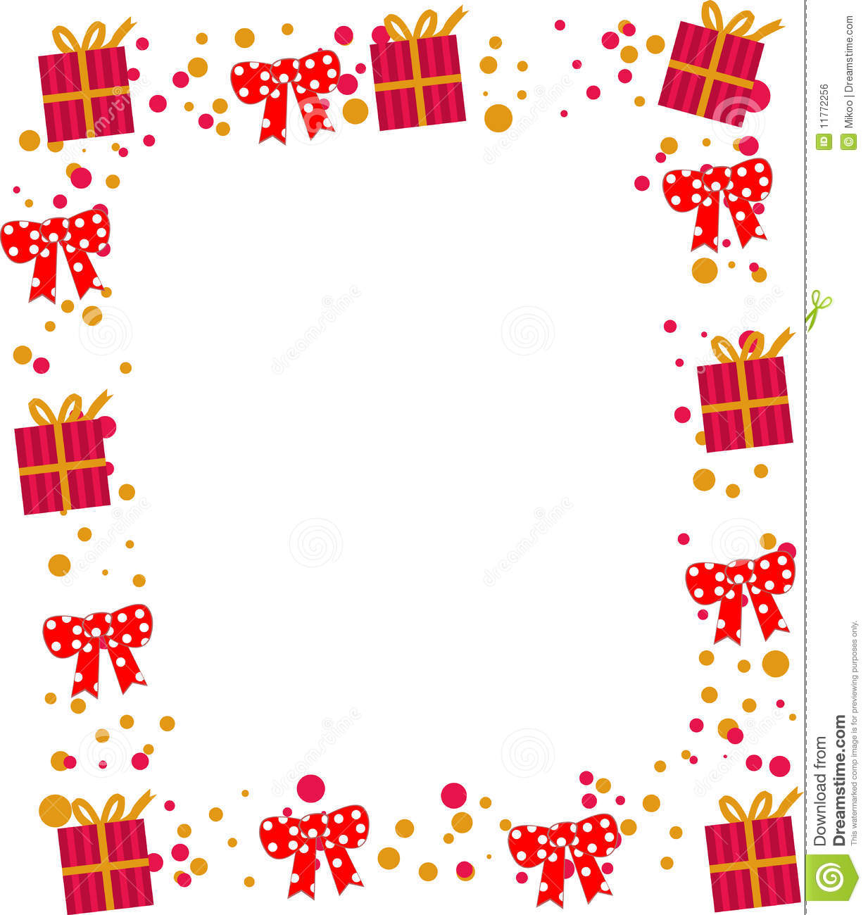 Cute Frame Stock Vector Image Of Holiday Romance Color