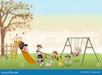 Kids At Playground Cartoon | www.pixshark.com - Images ...