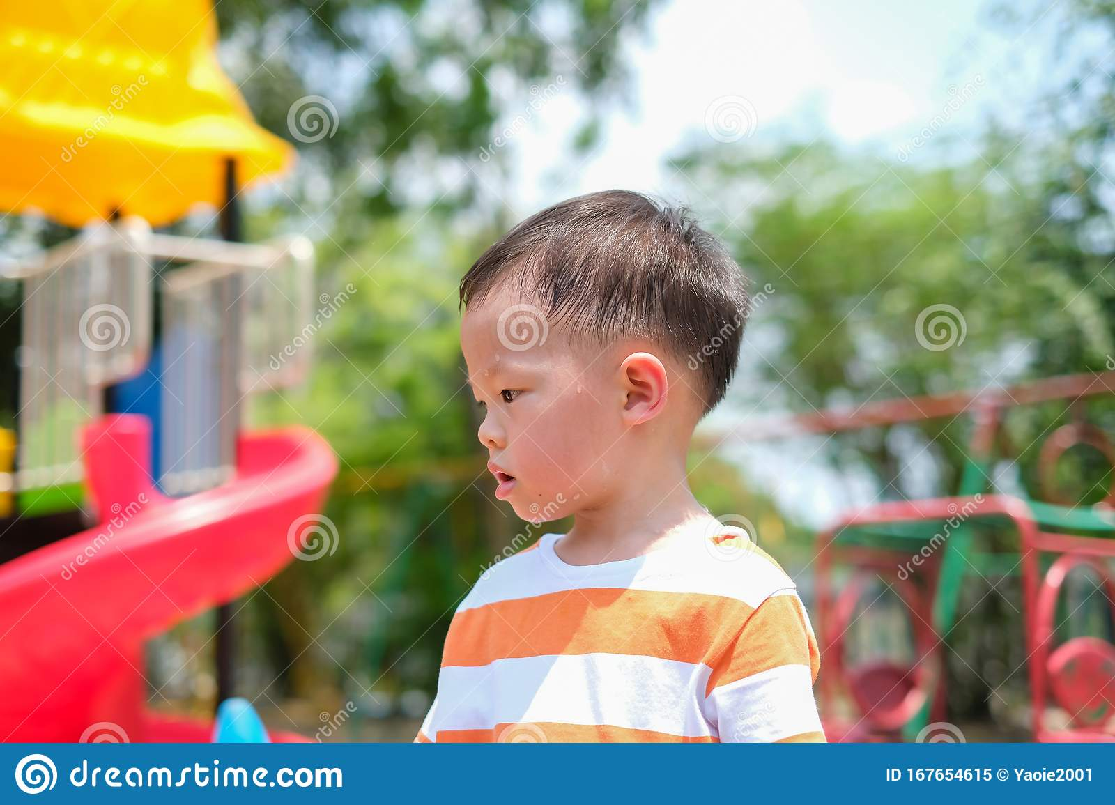 Cute Little Asian 2 - 3 Years Old Toddler Boy Child ...