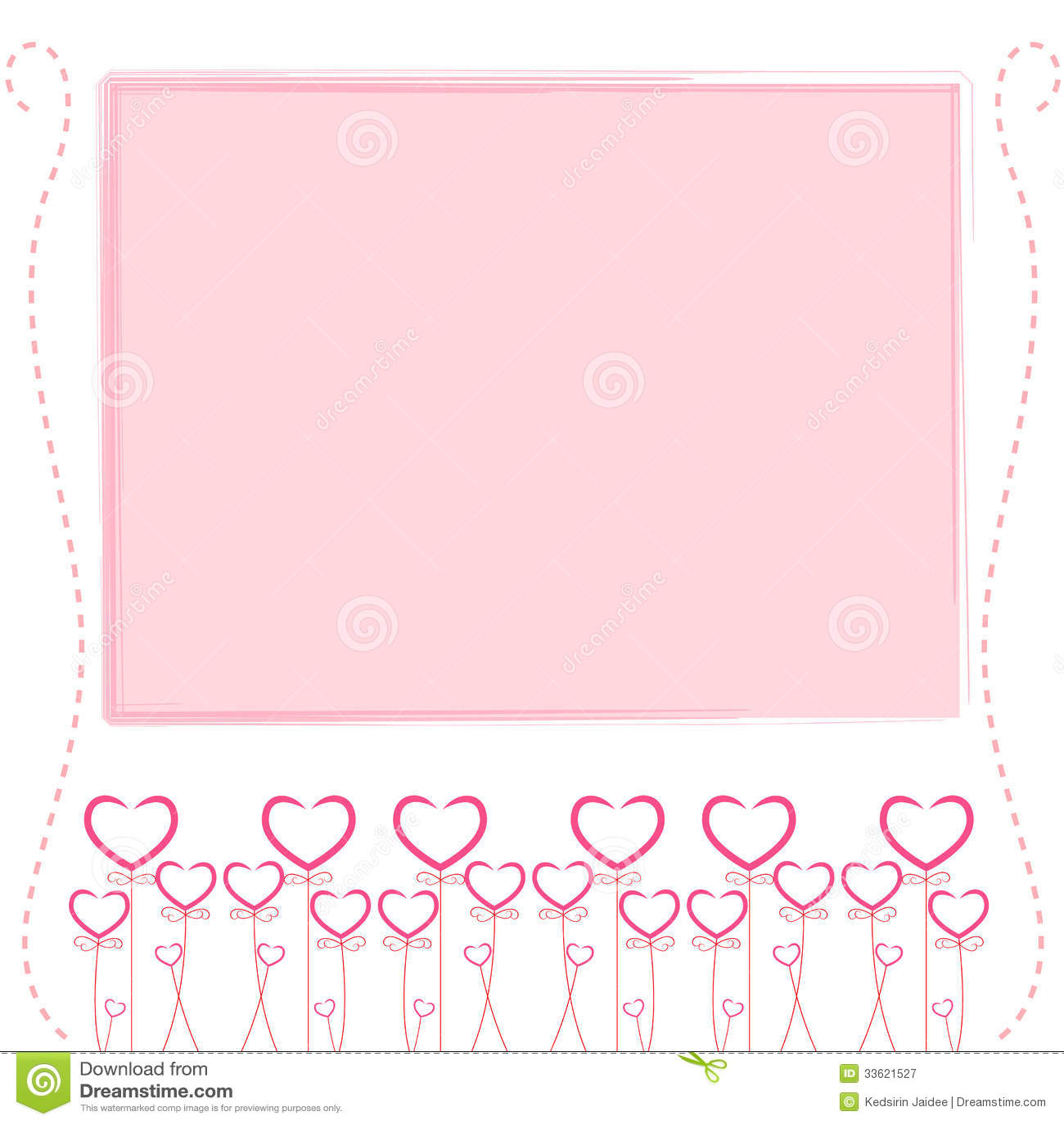 Cute Owl Wallpaper Border Cute Pink Background Cute Card Of Love Stock Vector