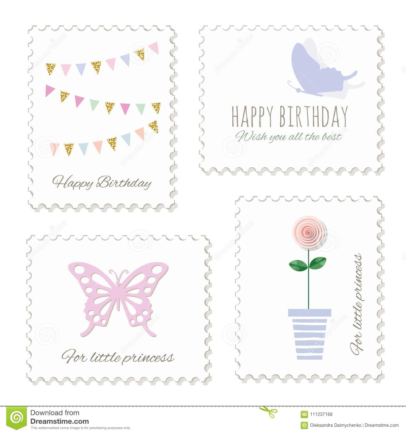 cute postage stamps for
