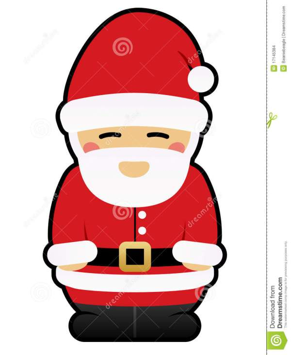 Cute Santa Claus Clip Art