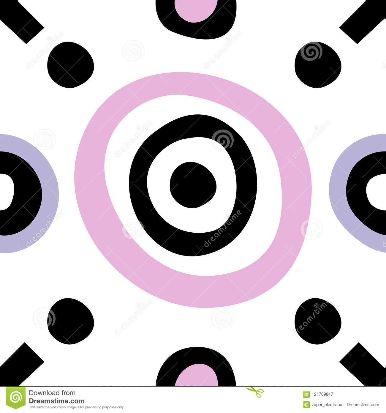 Simple Geometric Shapes For Children Stock Photo