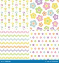 Cute Yellow Pattern Wallpaper