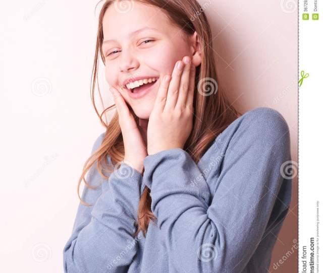 Portrait Of A Cute Smiling Teen Girl More Similar Stock Images