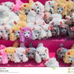 Cute Stuffed Puppies For Sale Stock Image Image Of Outdoor Puppies 119292983