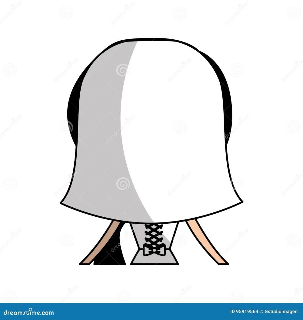 medium resolution of cute wife back avatar character