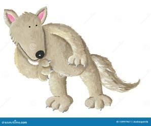 wolf loup mignon lupo sveglio