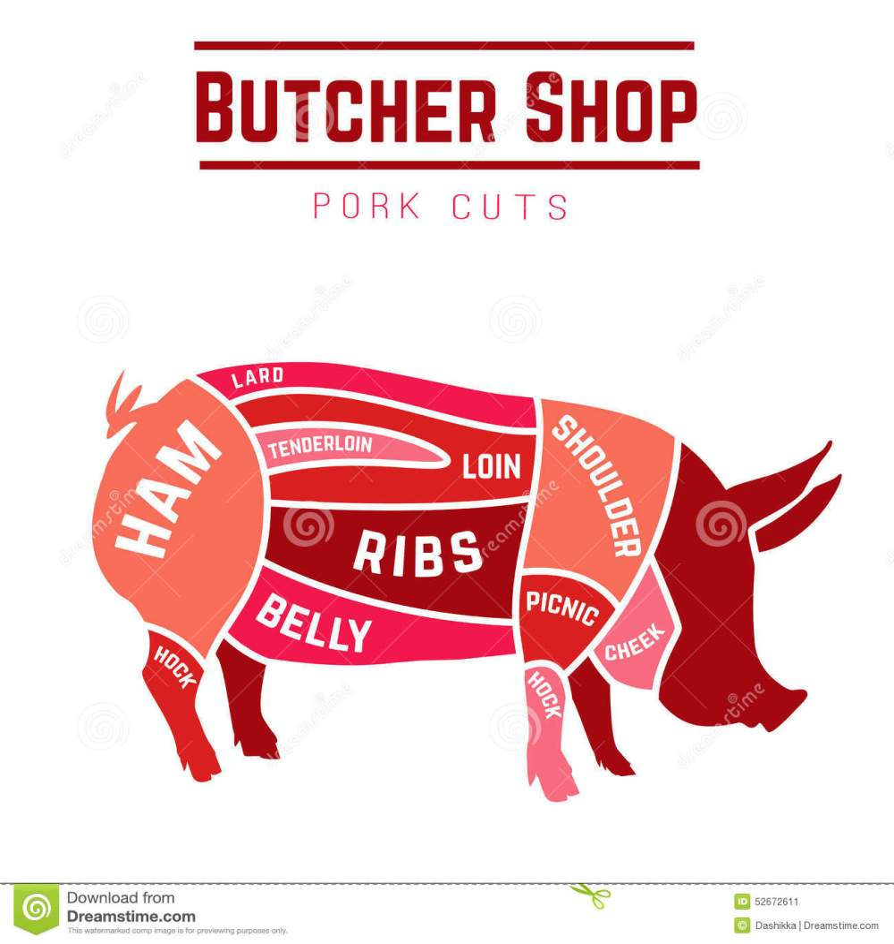 medium resolution of cuts pork stock illustrations 588 cuts pork stock illustrations vectors clipart dreamstime