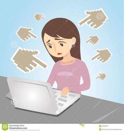 small resolution of cyber bullying clipart