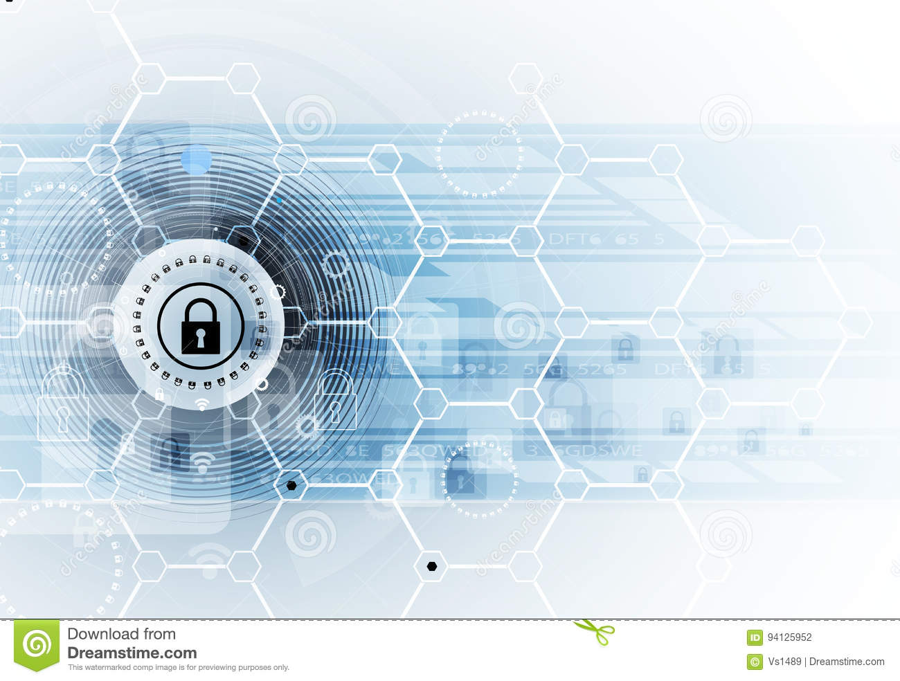 Cyber Security And Information Or Network Protection