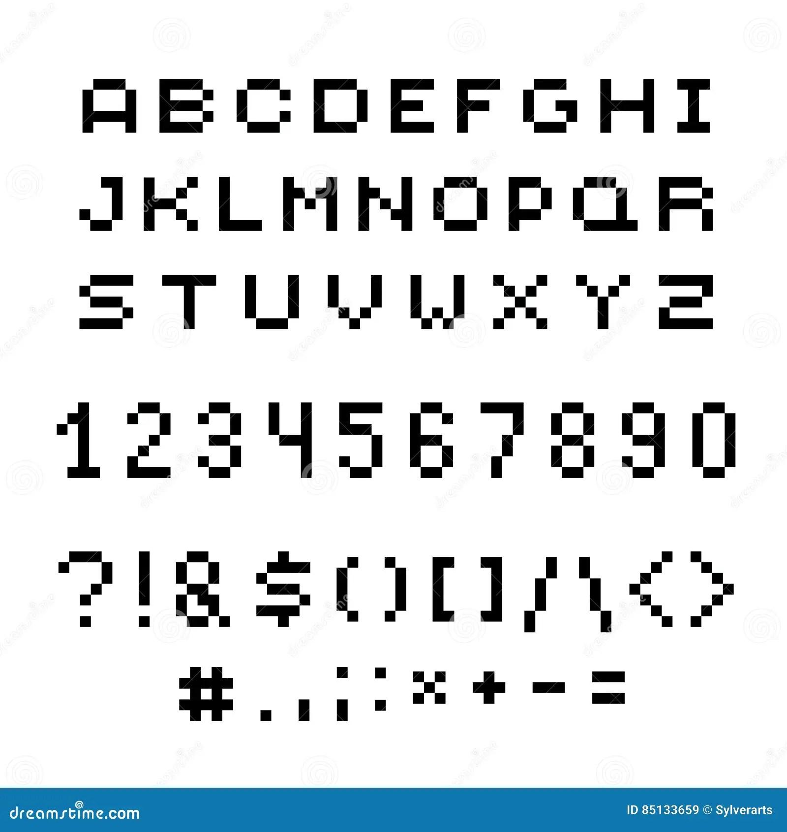 8 Bit Pixel Art