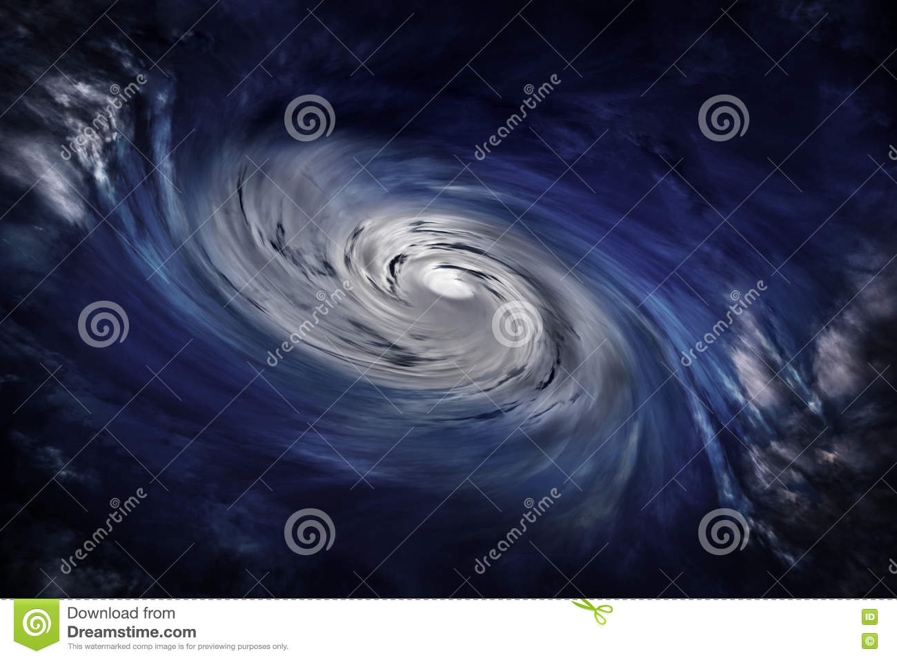 hight resolution of cyclone clouds eye of storm