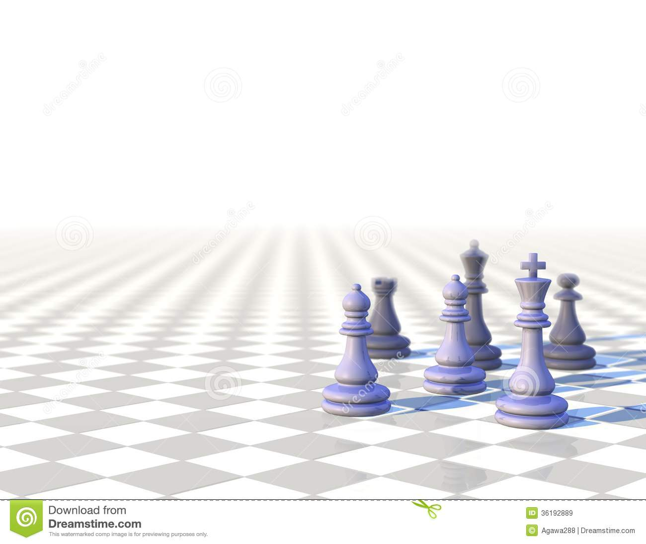 Chess Board 3d Wallpaper 3d Business Elegant Background With Chess Pawns Royalty