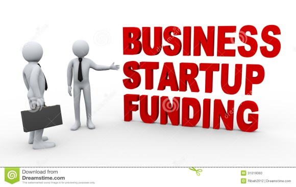 3d Businessman Startup Funding Stock Photo - Image: 31019060