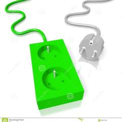 Electrical Plug X And Y 1990 Jeep Wiring Diagram 3d Electricy Socket Stock Illustration Image