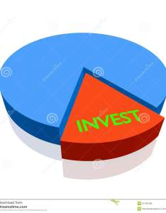 pie chart invest also stock illustration of salary rh dreamstime