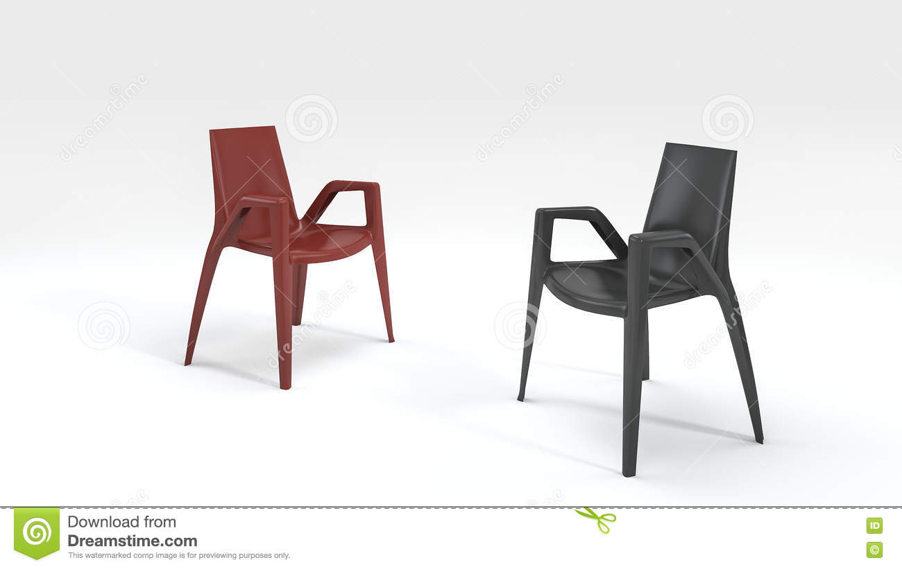 chair design program kitchen covers ikea 3d rendering good black and red stock illustration by 3dsmax