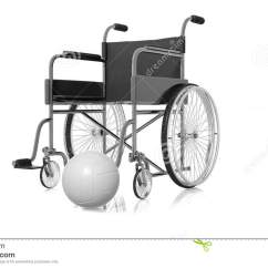 Wheelchair Volleyball Posture Cushion For Chair 3d Rendering Illustration Of And Stock