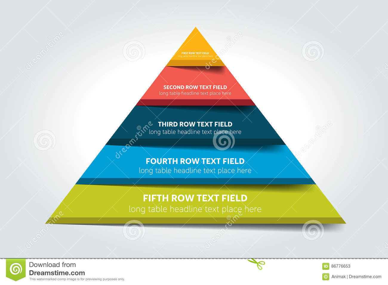 hight resolution of 3d triangle infographic chart scheme diagram table schedule element