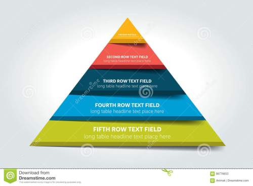 small resolution of 3d triangle infographic chart scheme diagram table schedule element