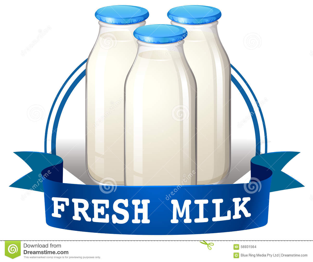 hight resolution of dairy product