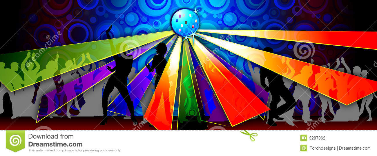 Dance Party Illustration Stock Photography Image 3287962