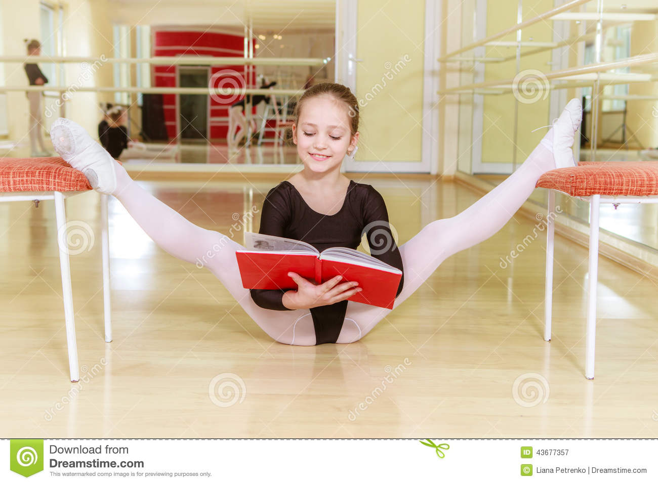 on chair dance covers events dancer a with dancing school stock photo image
