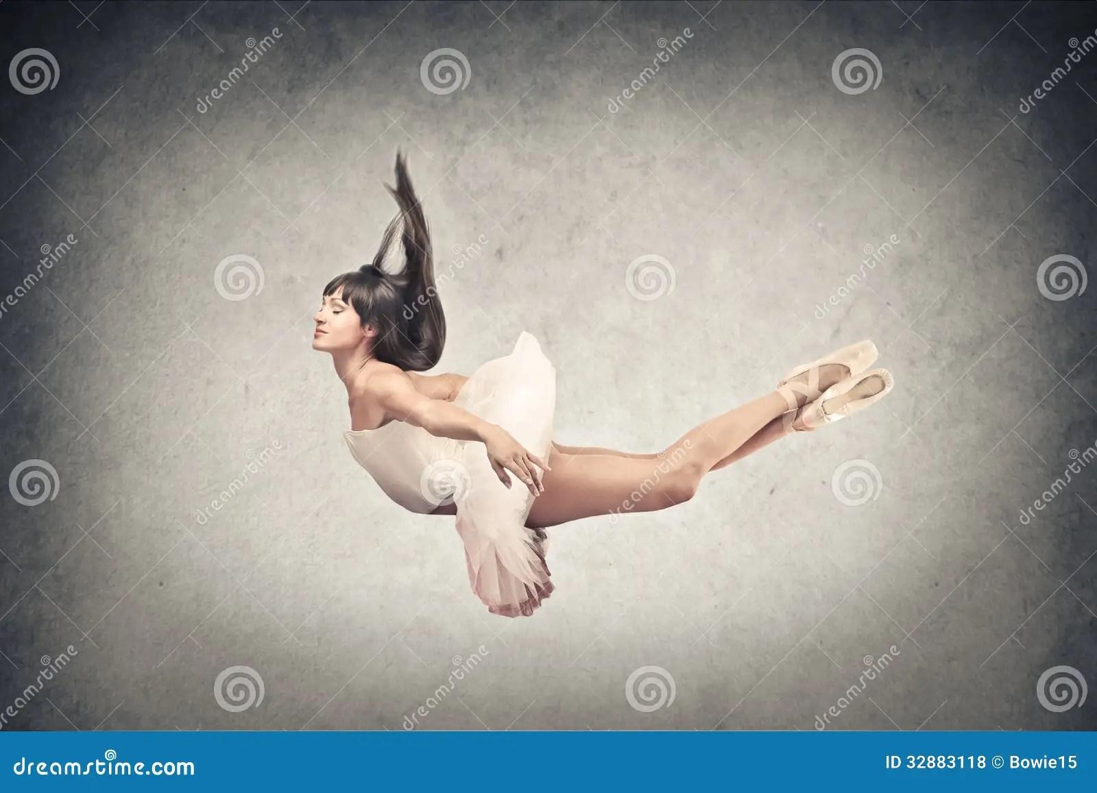 Dancer Flying Stock Photo Image Of Beautiful Wall Fall