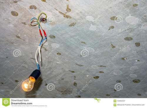 small resolution of bad wiring leading to the bulb