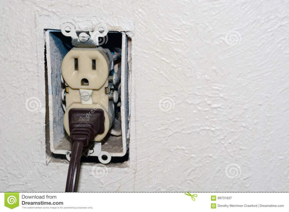 medium resolution of home danger of electrical outlet without cover plate with electrical plug plugged into socket