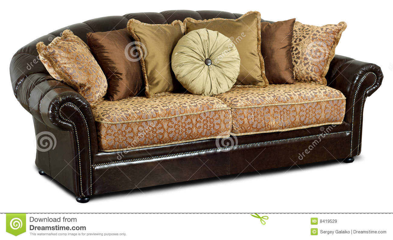 throws for cream leather sofa clearance furniture the dark with pillows royalty free stock