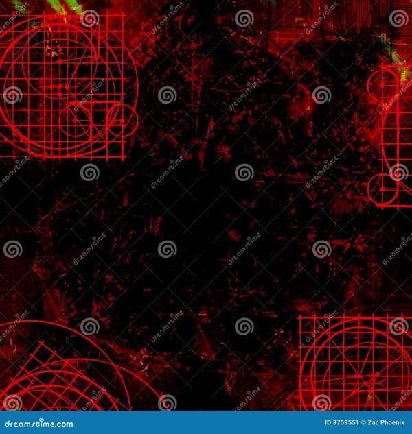 Dark Red Goth - Grungy Background Stock 3759551