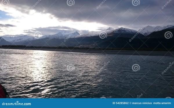 Dart Lake Amazing Landscape Editorial - 54285862