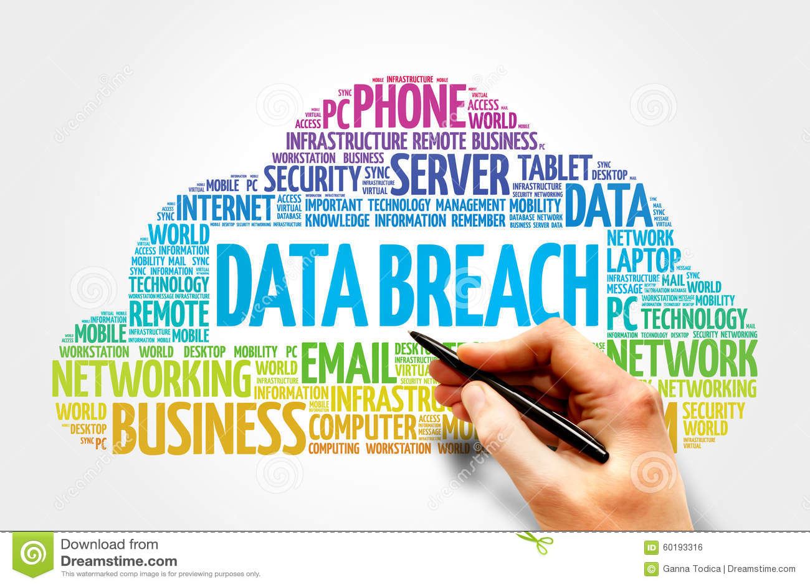 Data Breach Stock Photo