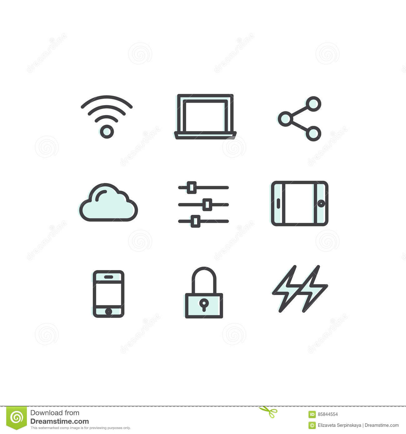 Data Technology, Mobile And Internet Tools, Devices