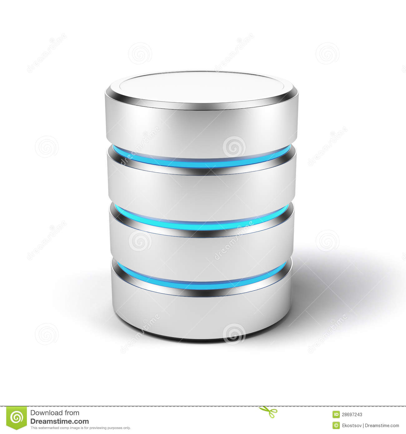 database icon stock illustration