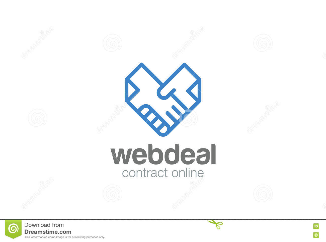 Vector Deal, Partnership, Agreement. Middle East Business