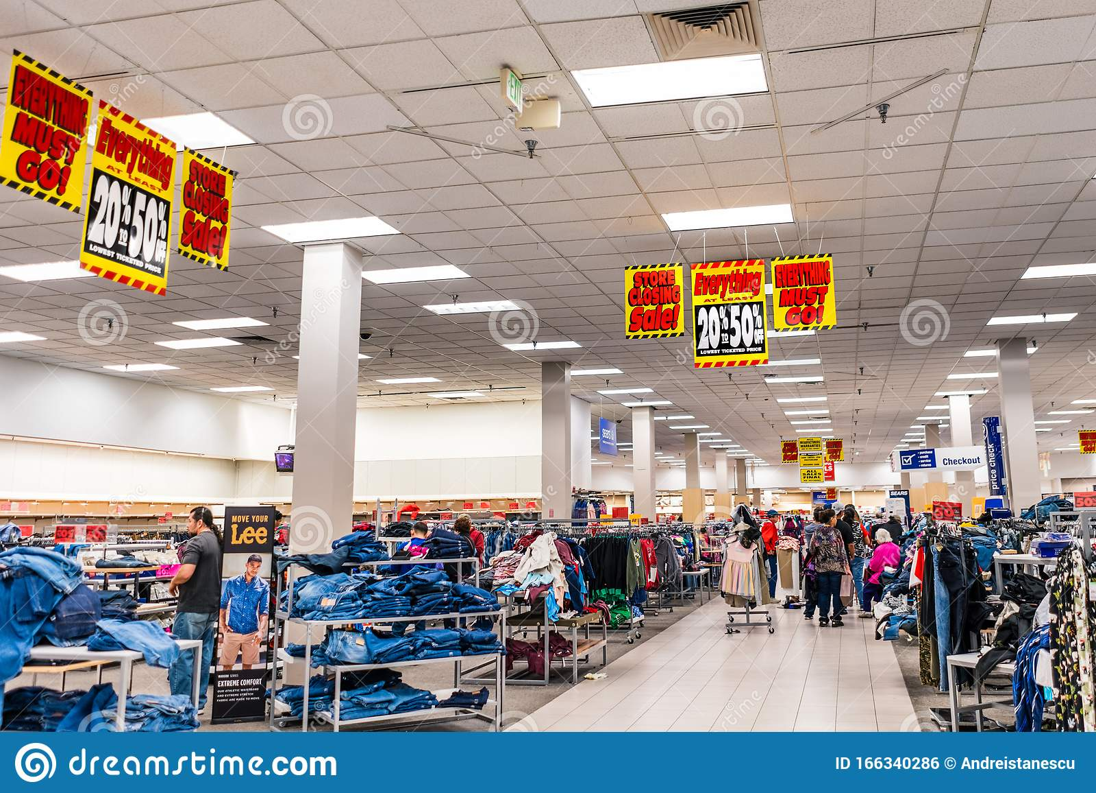 Dec 6 2019 San Jose / CA / USA - Sears Store Having Its ...