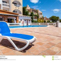 In Water Pool Chairs Kitchen Bar Deck Chair A Swimming Stock Photos Image 33795343