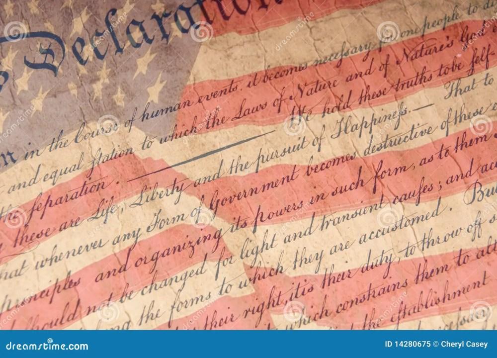 medium resolution of declaration of independence close up