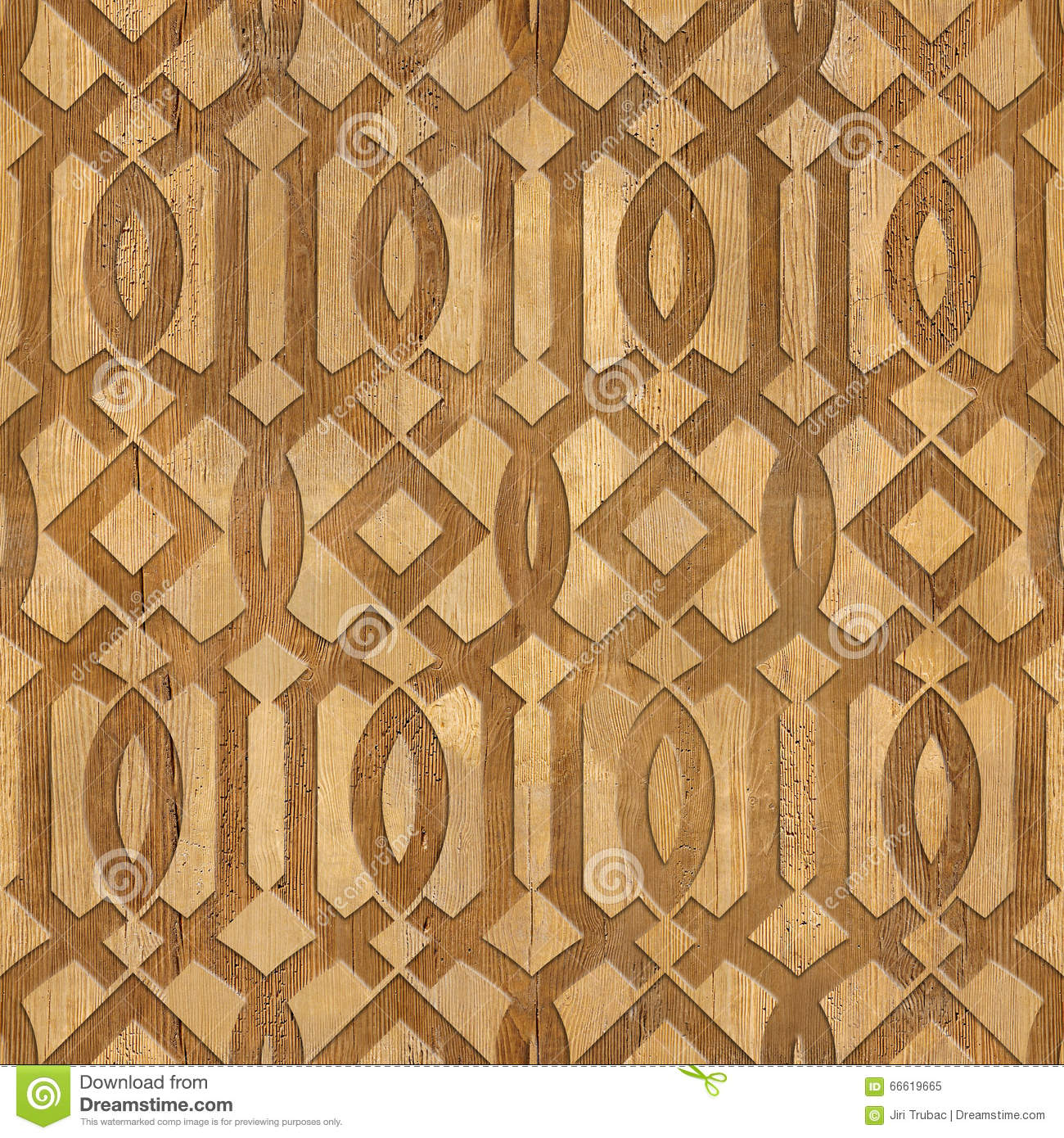 Decorative Arabic Pattern