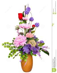 Decorative Artificial Flowers Stock Images - Image: 35258244