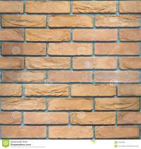 Decorative Brick Wall - Seamless Background - Sandstone ...