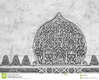 Decorative Reliefs. Muslim Art. Alhambra Stock Photos ...