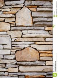 Decorative Rock Wall stock image. Image of design, detail ...