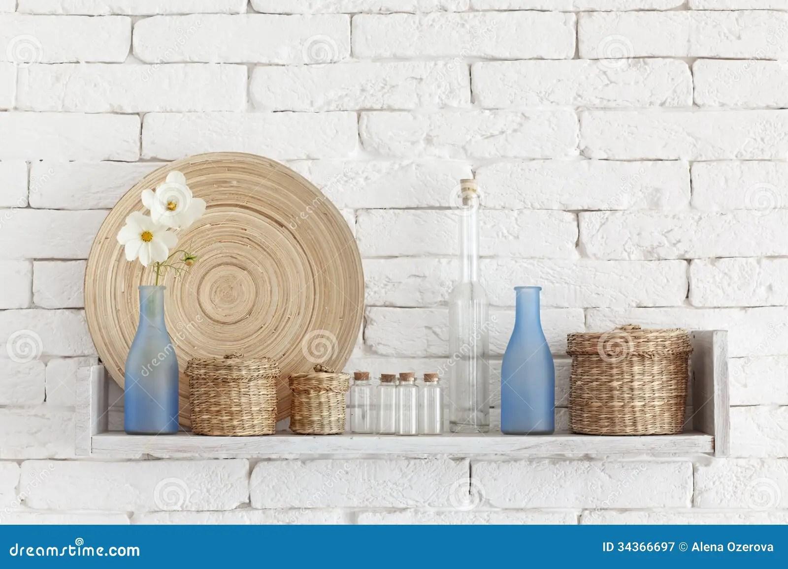 Decorative Shelf Royalty Free Stock Photography Image